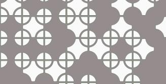 Muster Mohren braun